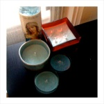 turquoise soy candles