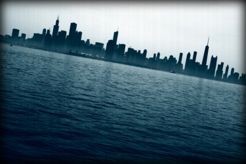 chicago, from lake michigan